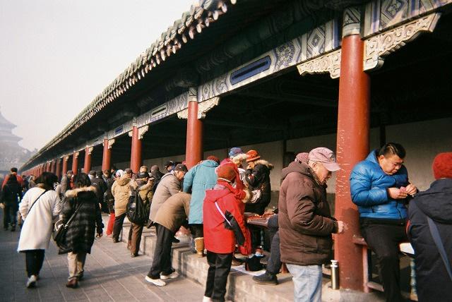 年始に行った中国で撮った旅行写真
