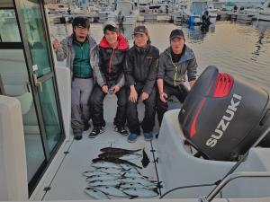 三河湾釣り人